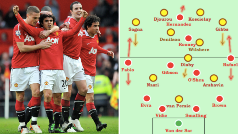 On This Day In 2011, Man Utd Beat Arsenal With 'The Worst Midfield In Premier League History'