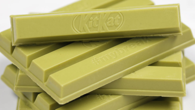 Green Tea KitKats Are Finally Coming To The UK