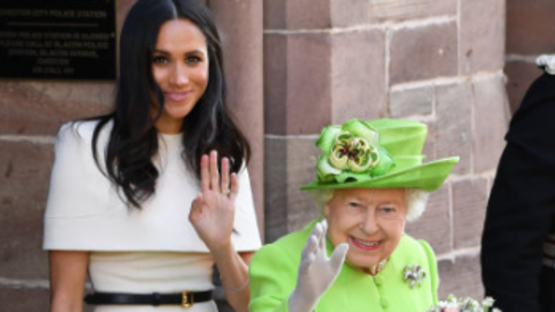 Meghan Markle Suffers Awkward Blunder In First Royal Appearance With Queen