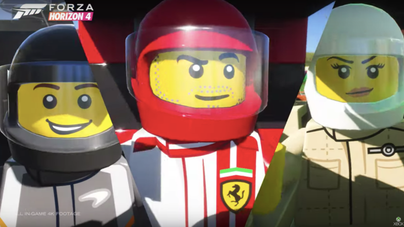 'Forza Horizon 4' Has A LEGO Update, And Everything Really Is Awesome
