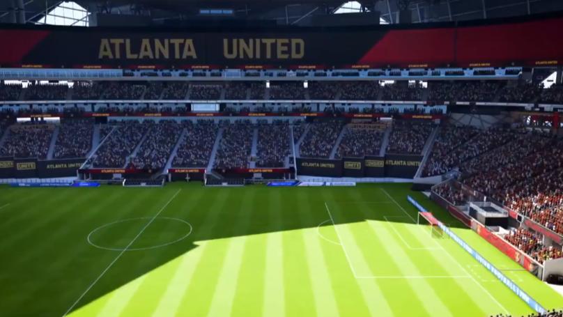 Atlanta United's Stadium On FIFA 19 Looks Beautiful