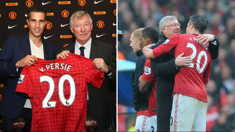 The Striker Sir Alex Ferguson Was Going To Sign Instead Of Robin Van Persie