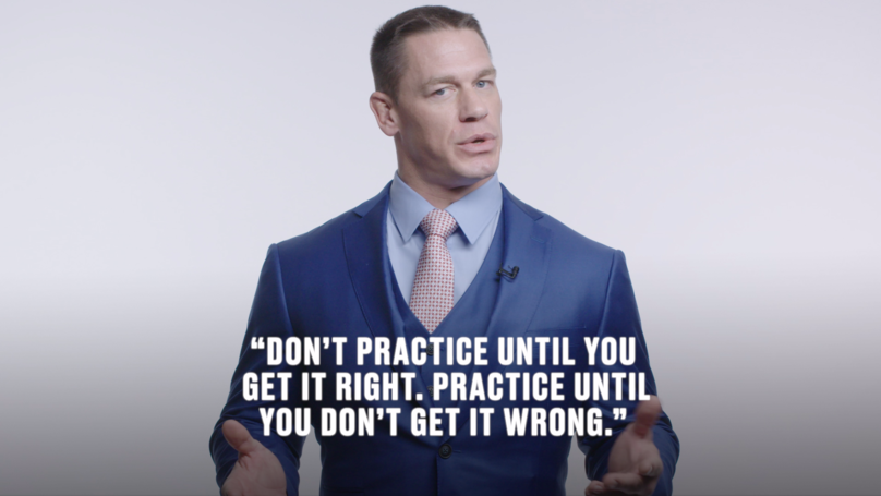 John Cena's Words of Wisdom: WWE Star Shares His Inspirational Advice