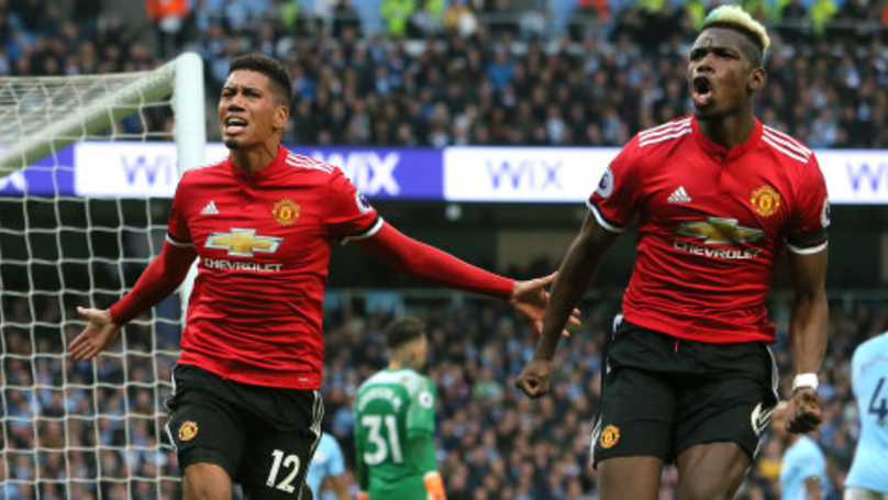 Manchester United Ruin Manchester City's Title Party With Dramatic Second Half Comeback