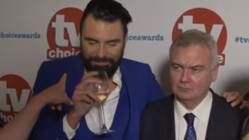 Rylan Turned Up Absolutely Steaming At The TV Choice Awards