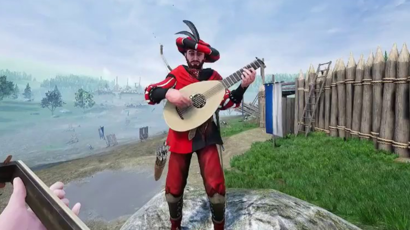 ​'Mordhau' Players Are Using A Bot To Play Lutes In Battle