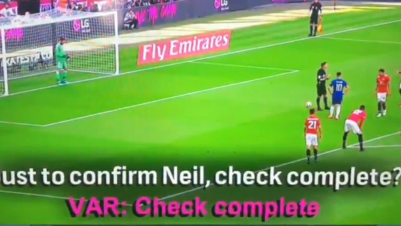 Amazing Footage Shows What Referees Hear And Say During A VAR Decision