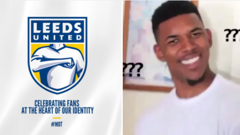 Everyone's Making The Same Joke About Leeds United's New Badge