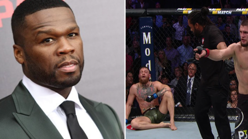50 Cent & Mike Tyson React To Conor Mcgregor And Khabib Nurmagomedov Chaotic Scenes