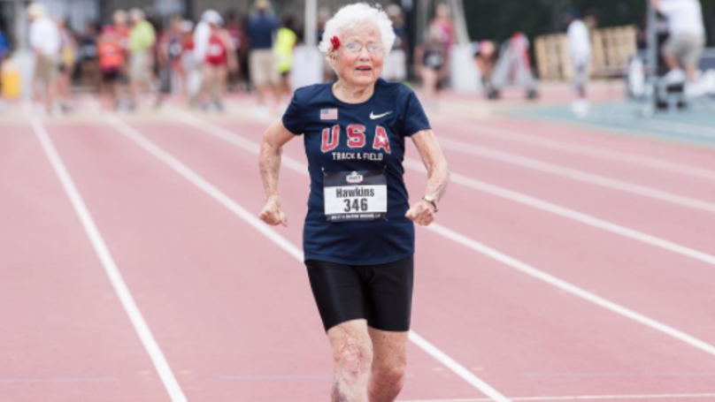 Super Gran Smashes World Record For 100 Metres Masters Sprint