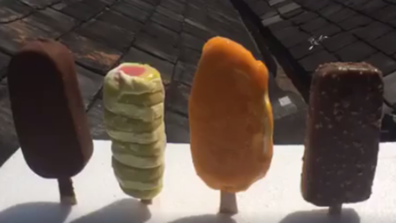 Here's Which Lolly Lasts Longest In A Battle Against The Sun