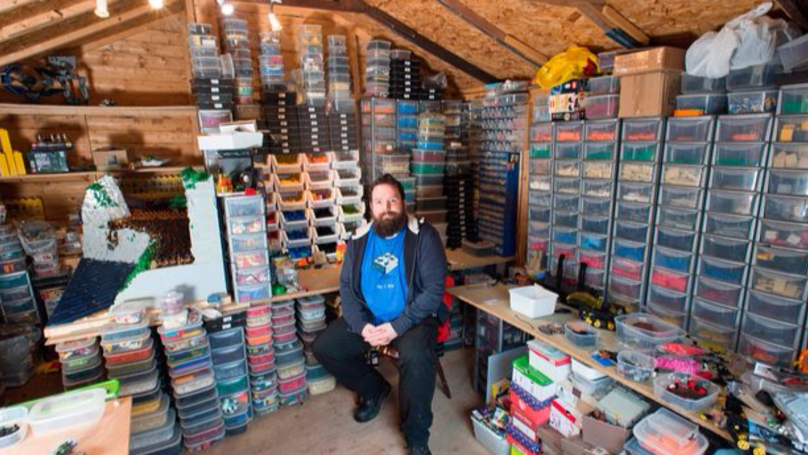 Massive Lego Fan Simon Pickard Needs Five Garden Sheds To Store His Huge Collection