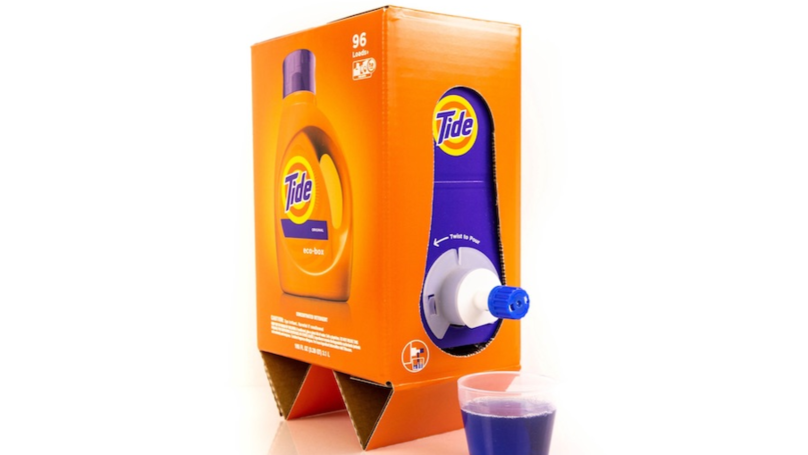 Tide Detergent Now Comes In A Box And People Are Worried It Looks Like Wine