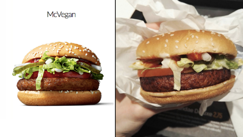 McDonald's Are Currently Trialing The McVegan Burger At ...