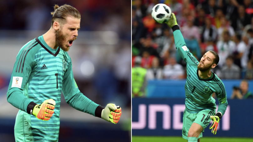David De Gea Makes His First Save Of The World Cup After 205 Minutes