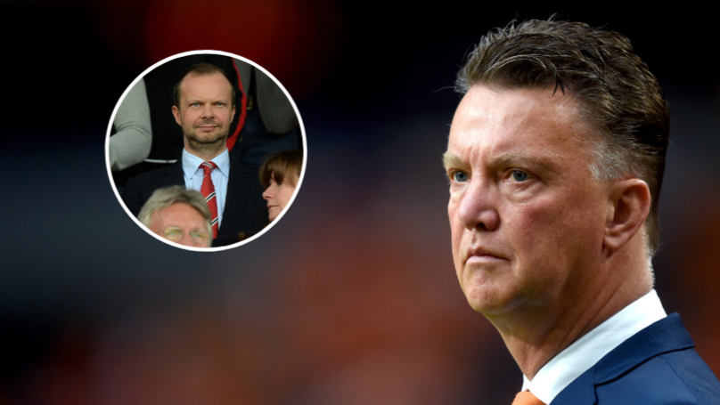 Louis Van Gaal Perfectly Sums Up Manchester United's Ed Woodward Problem