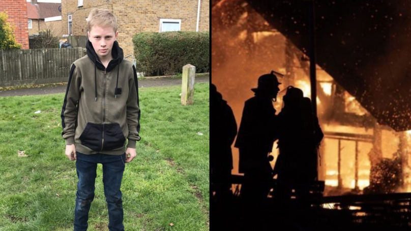 This LAD, 15, Saved A Grandma And Baby From A House Fire