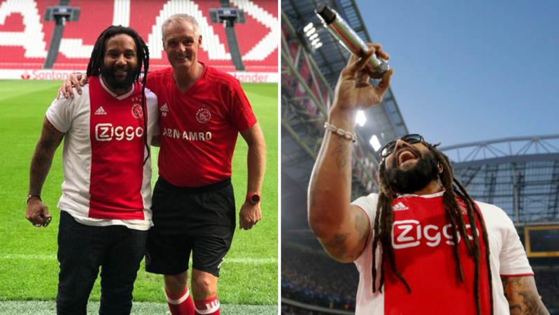 Bob Marley's Son Sang 'Three Little Birds' With Ajax Fans Last Night