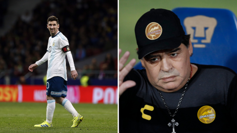 Diego Maradona Rips Into Argentina After Loss To Venezuela
