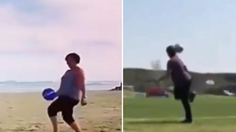 Watch: Jorginho's Mum Has A Better First Touch Than Tiemoue Bakayoko