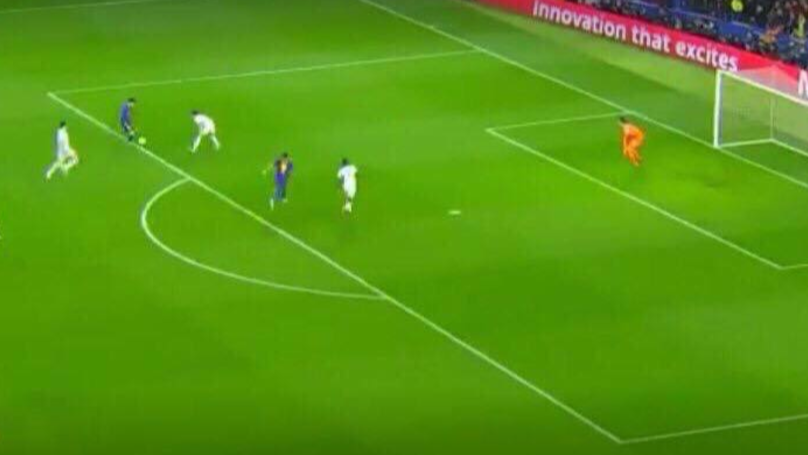 Lionel Messi Assisted Ousmane Dembele And You Can't Even See Him In This Picture