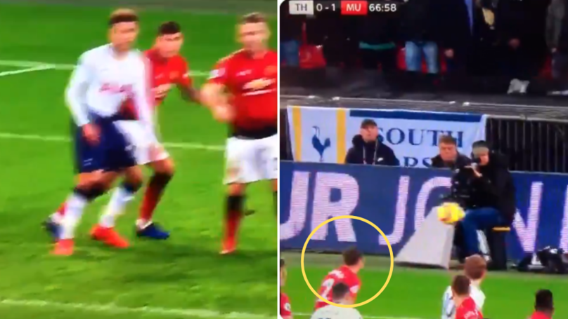 Victor Lindelof's Reaction To Christian Eriksen Hitting Free-Kick Wide Is Pure Gold