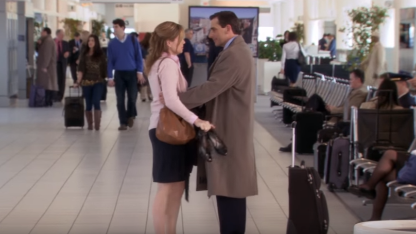 ​Jenna Fischer Gave A Genuine Goodbye To Steve Carrell In His Last Scene In 'The Office'