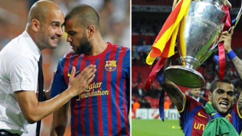 EXCLUSIVE: Dani Alves Explains How Pep Guardiola Won The 2011 UCL Final Single Handedly