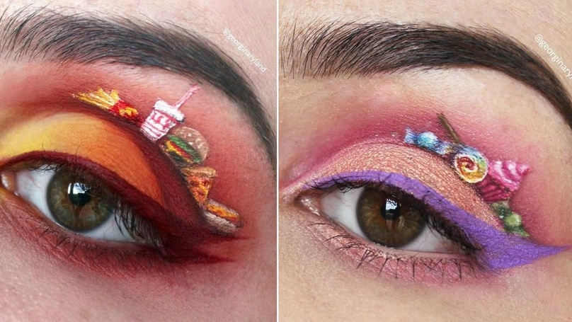 This Woman's Amazing Eyeshadow Creations Are Giving Us Eye Envy