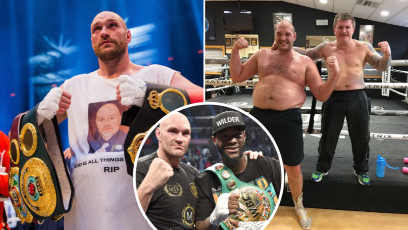 Tyson Fury's Remarkable Comeback Story: From 27 Stone To No.1 Heavyweight In World Boxing