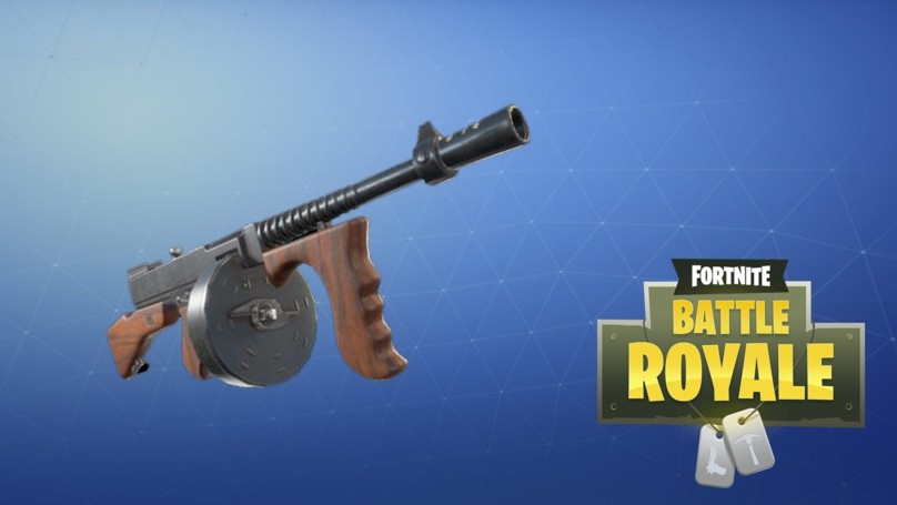Fortnite Just Got A New Gun Fit For A 1920s Gangster