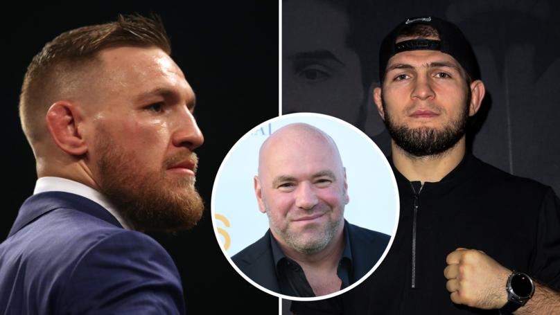 Dana White Says Conor McGregor Could Return If 'Something Happens' To Khabib Vs Poirier