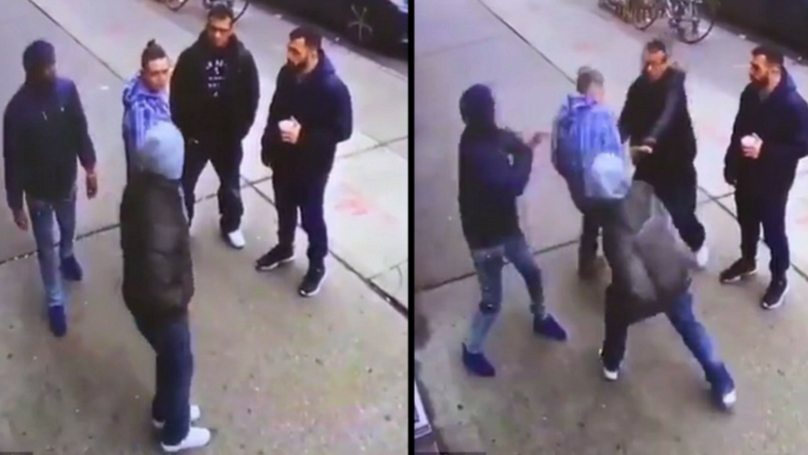UFC Fighter Shares Shocking Video Of Violent Street Fight With Crips Gang Members
