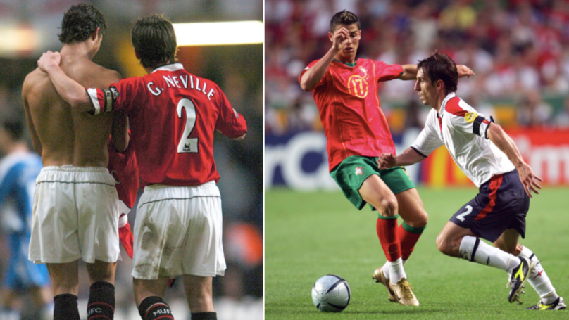 Gary Neville Reveals The Secret Behind How To Stop Cristiano Ronaldo