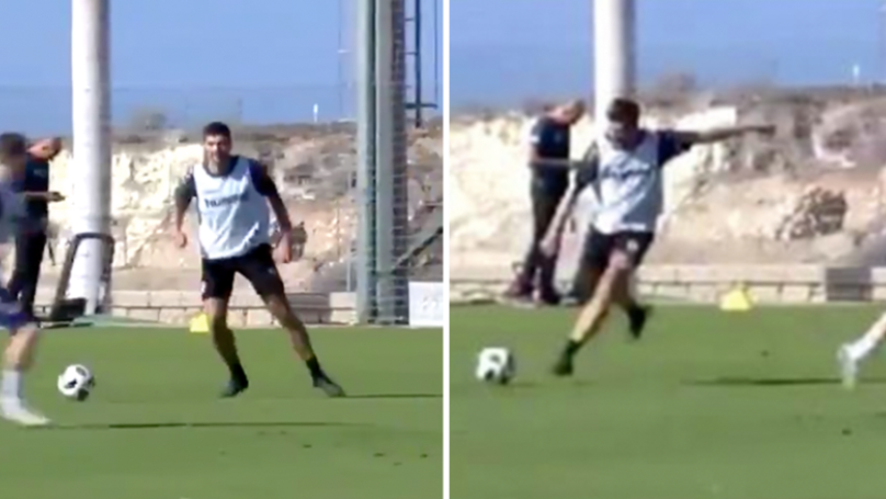 Steven Gerrard Shows He's Still Got It With Stunning Trademark Pass