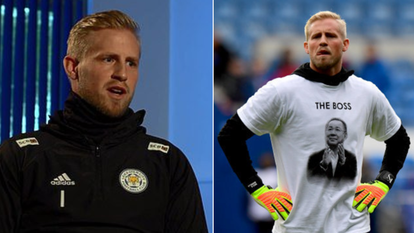 Kasper Schmeichel Gives Emotional Interview On Leicester Helicopter Crash