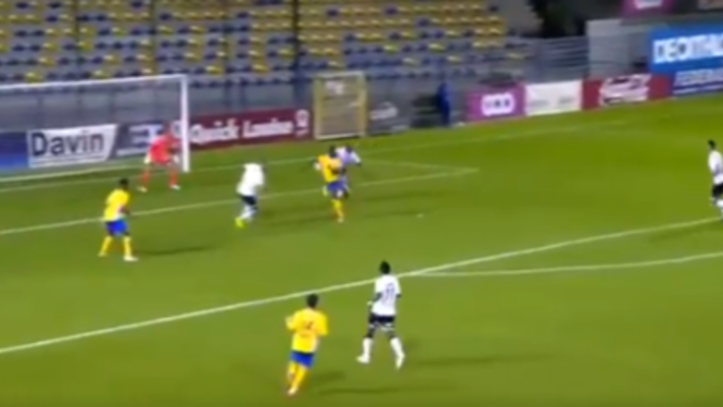 We Can't Work Out How Youssouf Niakate Has Scored This Outrageous Backheel Flick
