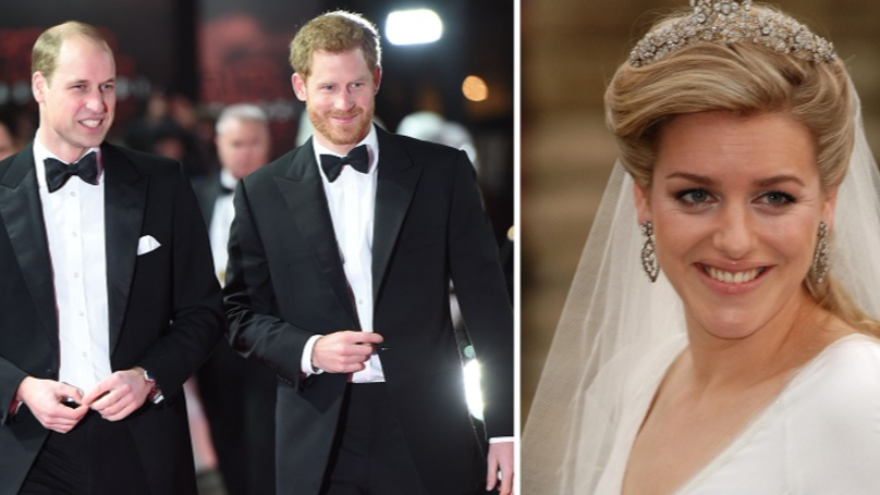 People Might Not Be Aware That Prince Harry And William Have A Step Sister