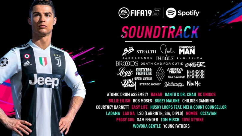 ​FIFA 19 Soundtrack Revealed, Full Playlist On Spotify Now