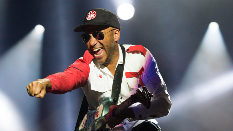 Musician Tom Morello Savagely Shuts Down Critic Over 'F**k Trump' Post