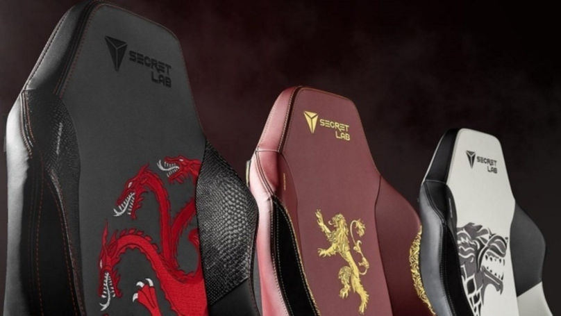 Represent Your Favourite House With A Game Of Thrones Gaming Chair