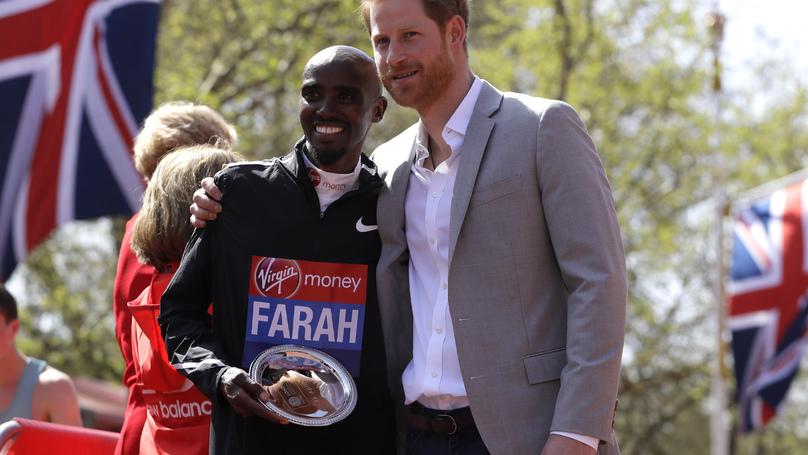 Mo Farah Sets A New British Record At The London Marathon