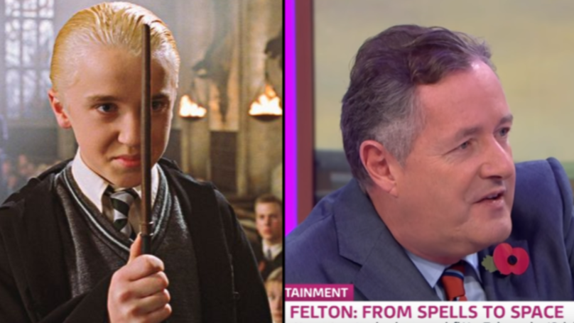 Harry Potter Fans Shocked After Draco Malfoy Actor Tom Felton Appears On Great Morning Britain