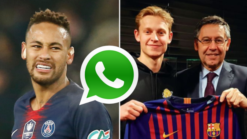 The Unusual Way Neymar Helped Frenkie de Jong To Choose Barcelona Over PSG
