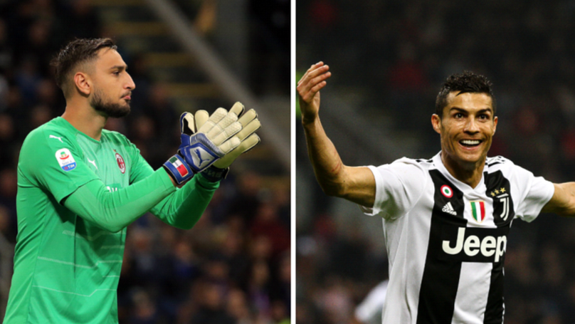 What Donnarumma Said After Playing Against Cristiano Ronaldo For The First Time Is Amazing