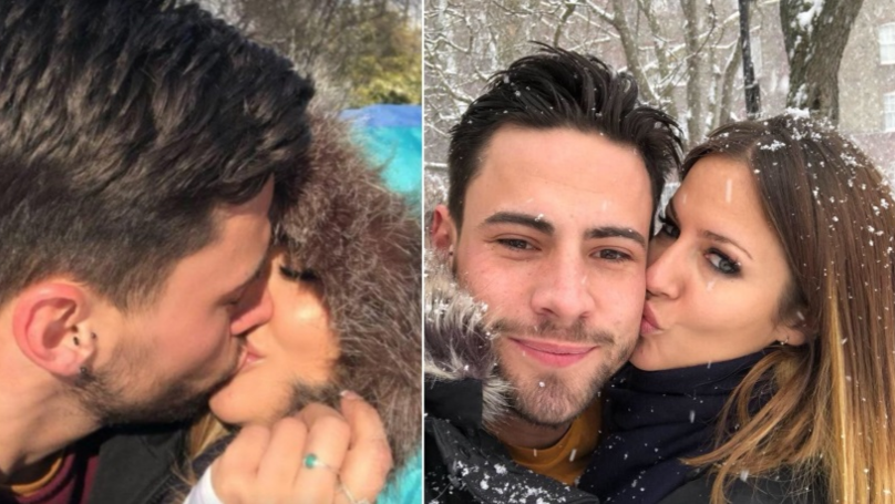 ​CBB Star Andrew Brady Accused of Cheating on Caroline Flack Just One Day After Confirming Romance