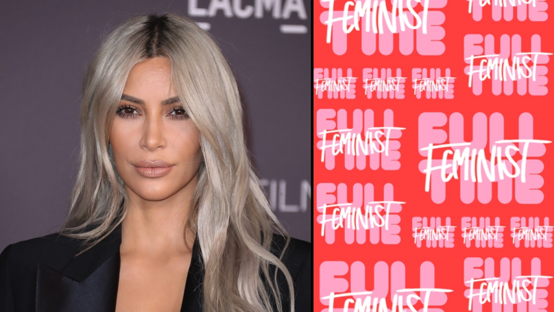 Kim Kardashian Is Slammed Online For Releasing 'Feminist' Emoji Range