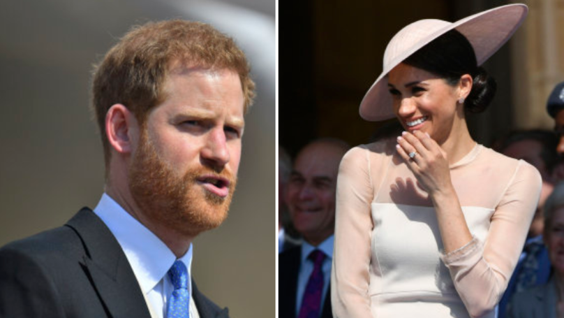 WATCH: Meghan Markle Giggles As A Bee Gatecrashes Prince Harry's Speech