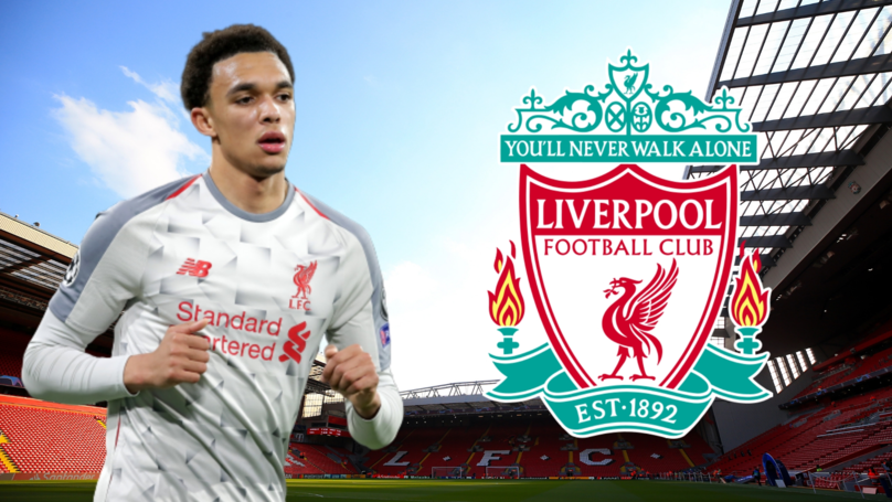 Liverpool Star Trent Alexander-Arnold Voted The Best Right-Back In World Football