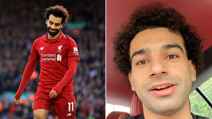 Liverpool's Mohamed Salah Looks Unrecognisable Without His Beard
